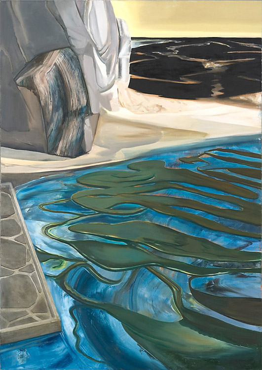 Geology, 2010 Oil on canvas, 170 x 150 cm