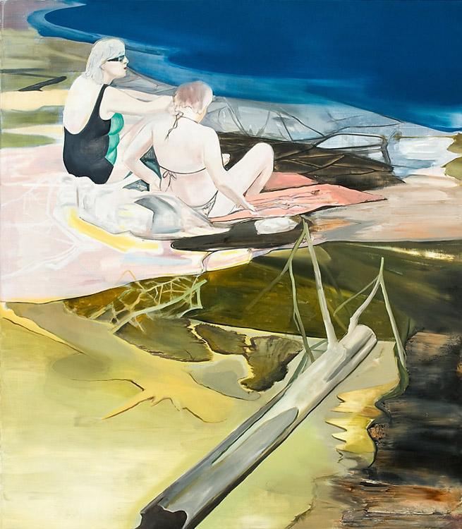 Girl Talk, 2010 Oil on canvas, 170 x 200 cm