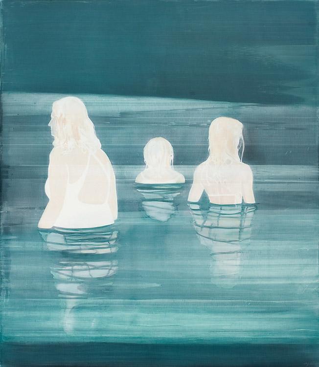 Under A Full Moon, 2010 Oil on canvas, 170 x 200 cm