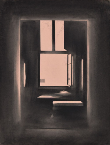 The Open Window II , 2014, 65 x 50 cm