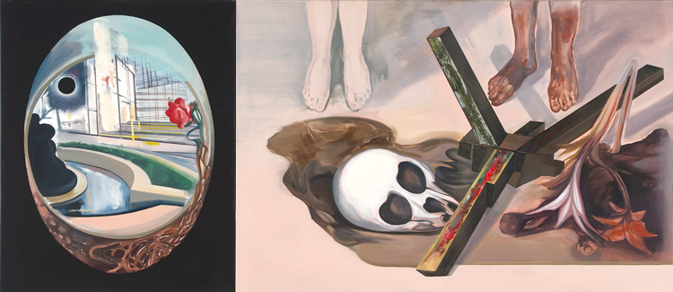 Faith, 2009 Oil on canvas, 100 x 220 cm