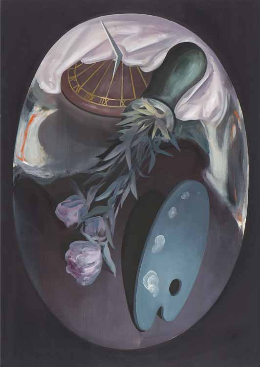 Still Life with an Accident, 2008, Oil on canvas, 100 x 70 cm