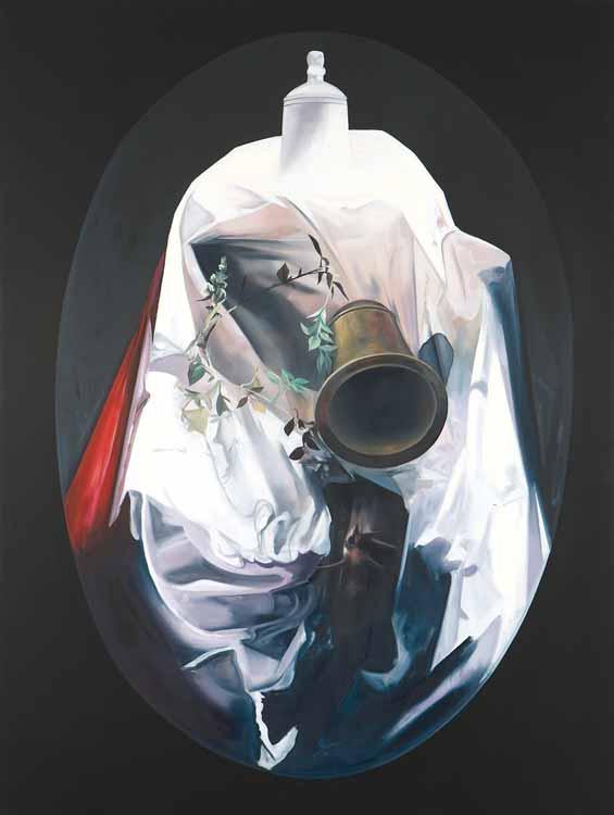 Studio Scene, 2008-09, Oil on canvas, 225 x 170