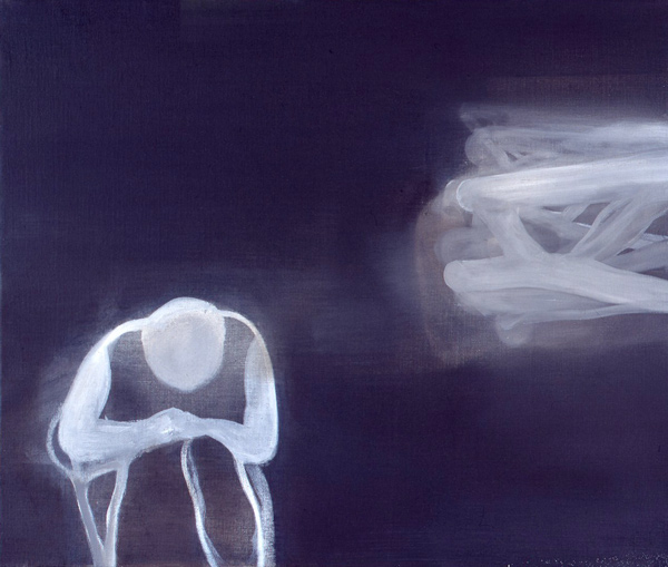 Blinded by the Night / Nattblind, I, 1999 Oil on Canvas, 55,5 x 66 cm