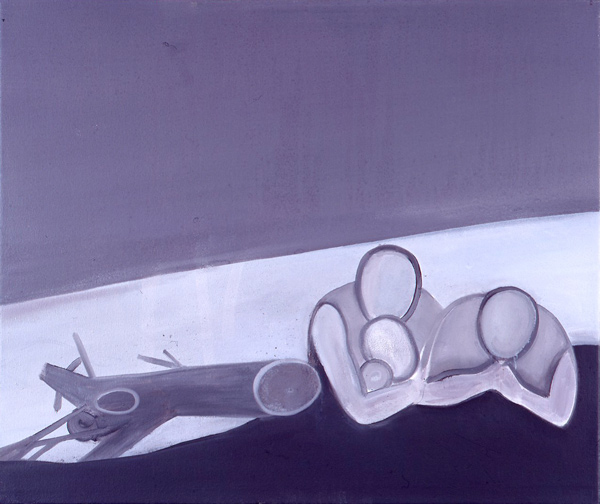 Blinded by the Night / Nattblind, III, 1999 Oil on Canvas, 55,5 x 66 cm