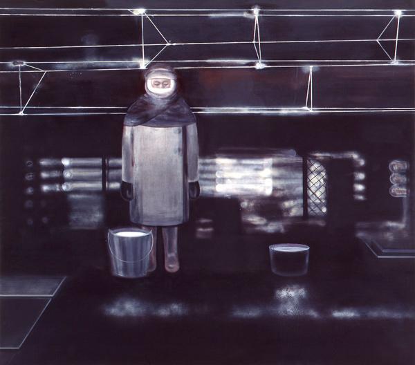 Ice and Volt of the Night / Is og volt av natten, 1999 Oil on canvas, 200 x 225 cm