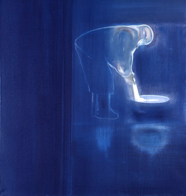 Night Song / Nattsang, 1999 Oil on canvas, 80 x 75 cm