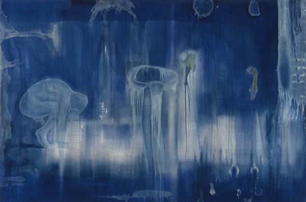 Implosjon , 1997, 200 x 300 cm, Rogaland Kunstmuseum