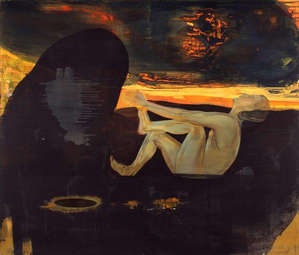 Søvnløs, 1996-97 Oil on canvas, 170 x 200 cm