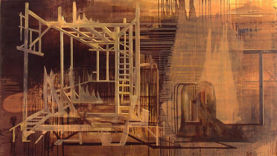 Innskrift, 1996-97 Oil on canvas, 170 x 200 cm