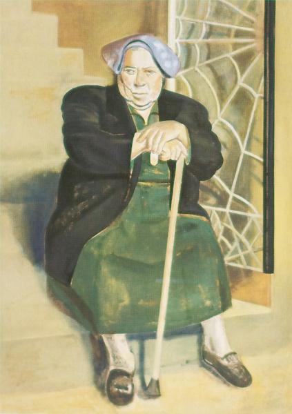 Checca, 1992 110 x 79 cm