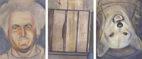Mariuccio, 1992 58 x 38 cm x 3