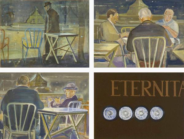 Eternità, 1992 38 x 50 cm x 4