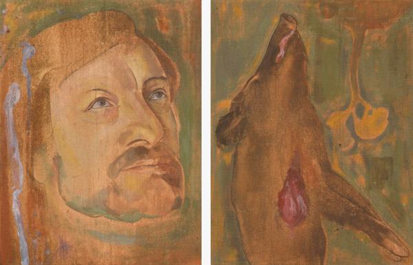 Tommaso, 1992 58 x 38 cm x 2