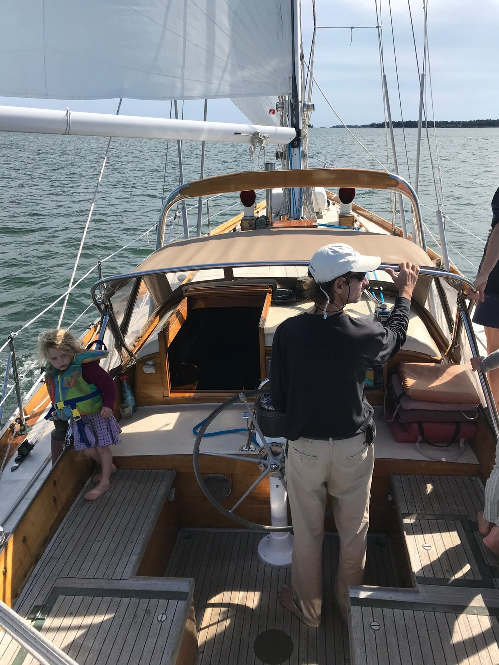 Reserve Your Time On Penobscot Bay - ELSKOV is available for charter for up to six guests, from late May through September. Book a single day, a long weekend, a week, or an extended time on the water. Please note that bookings of less than three days may only be reserved within 30 days of sailing. Charters of three days or longer may be booked up to a year in advance. To begin planning your adventure, please click the contact link and send us a note describing your wishes.Rates:$900/day$5,200/weekAdditional discounts are available for multiple-week bookings.Captains charge $300/day.