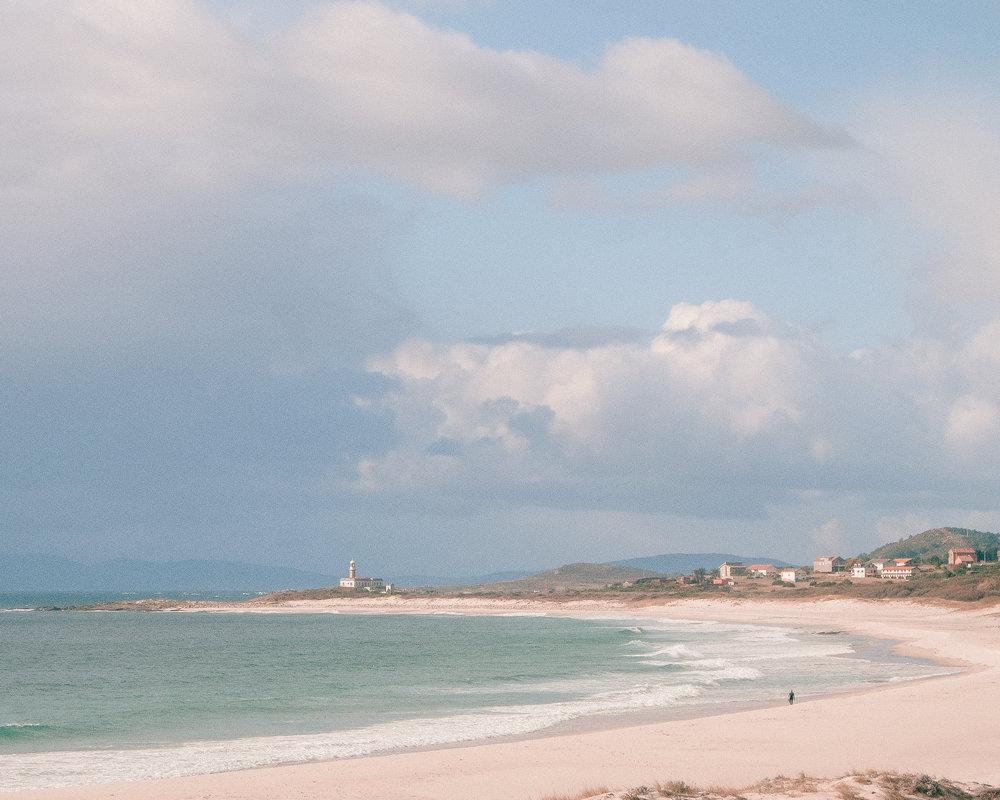 The stunning Galician coast.