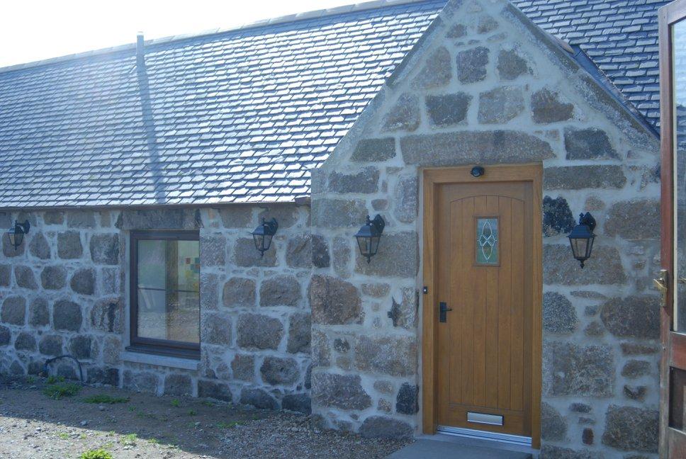 new steading front door