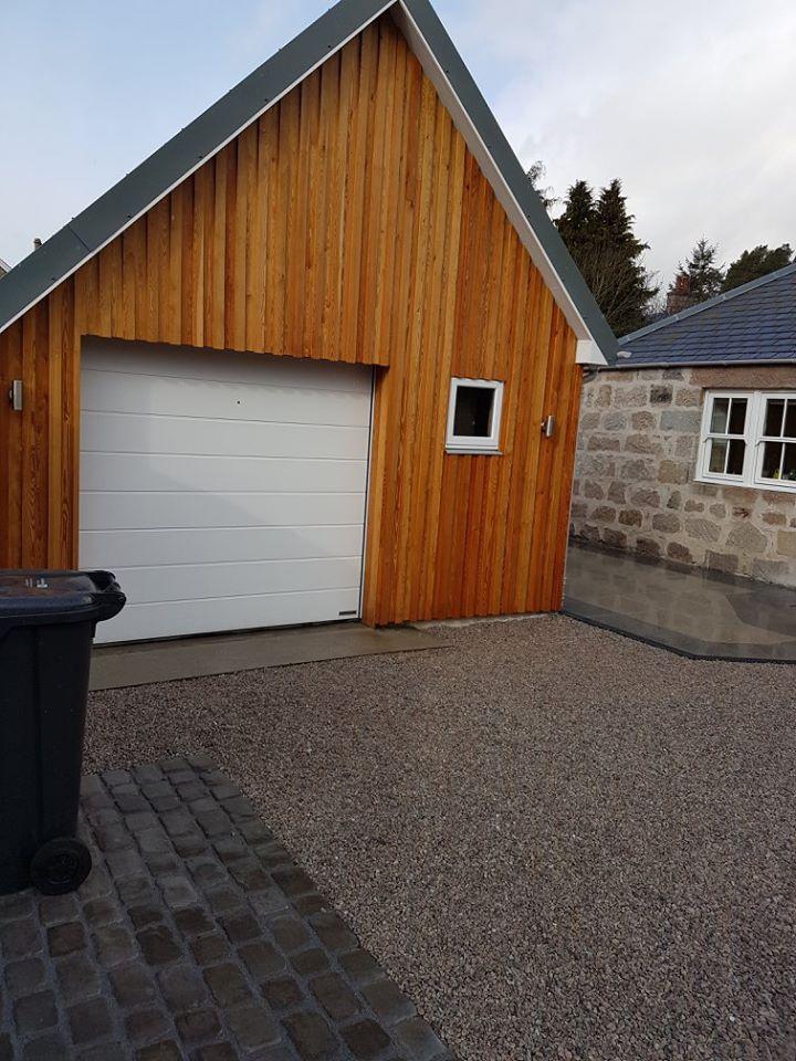 new freshened up garage