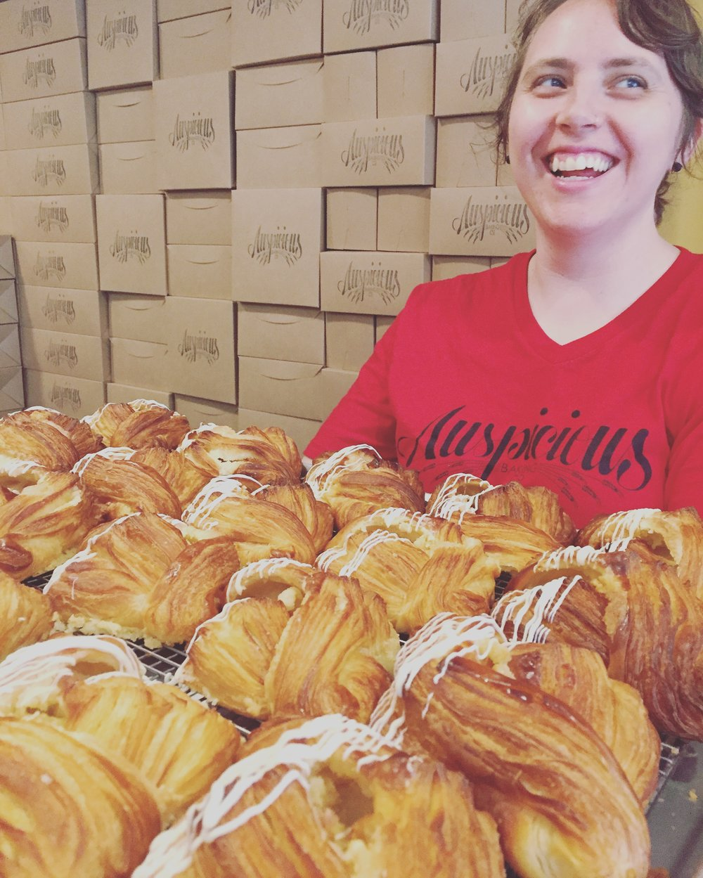 Anya + Our Iced Croissants