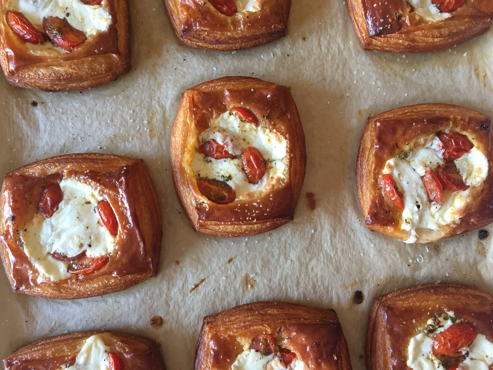 Roasted Tomato Croissants