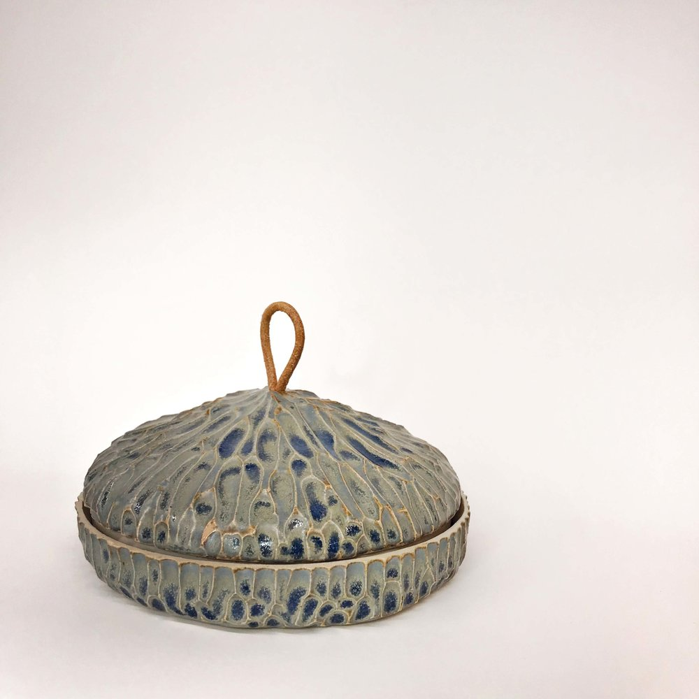 Carved Pot (granite)