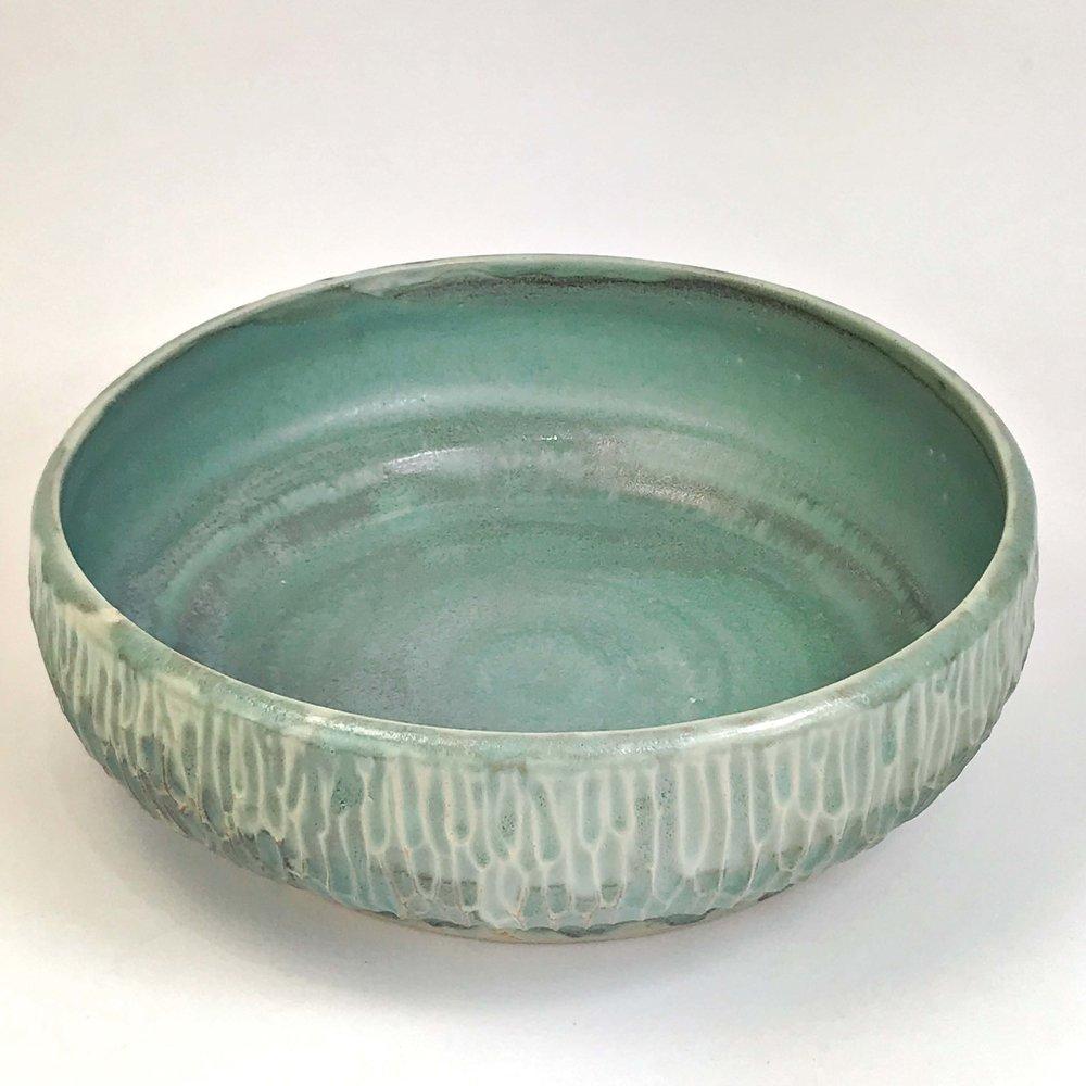 Large Carved Bowl