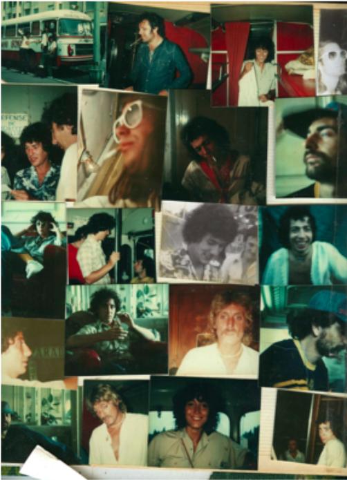 - Tournée Christophe 1976 Le bus de la tournée, le pilote, Mariline, Didier Batard, le regretté Patrice Tison entre les Wisniak, Didier Batard, Bunny, Dominique Perrier, Christophe