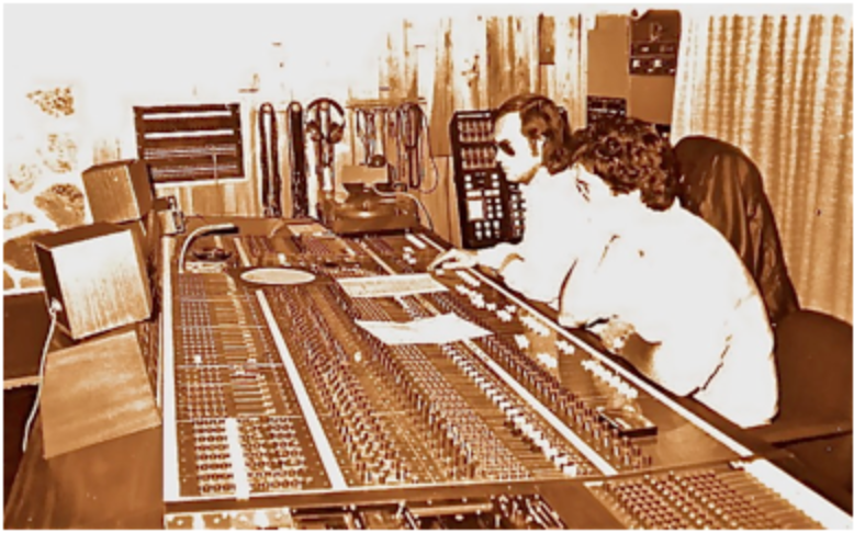 Enregistrement de Cerrone VII en compagnie de Didier Lozaïc au studio Continental Paris