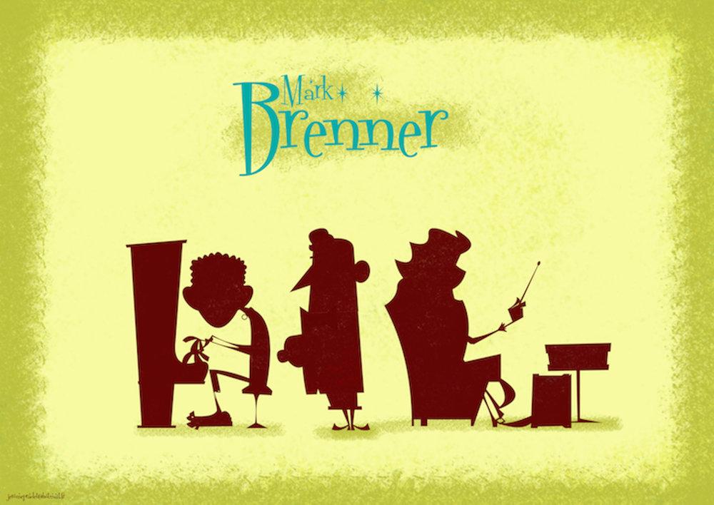 - Mark Brenner auteur compositeur chanteur et bassiste qui vie en France me présente une chanson que j'adore et que je décide de produire.