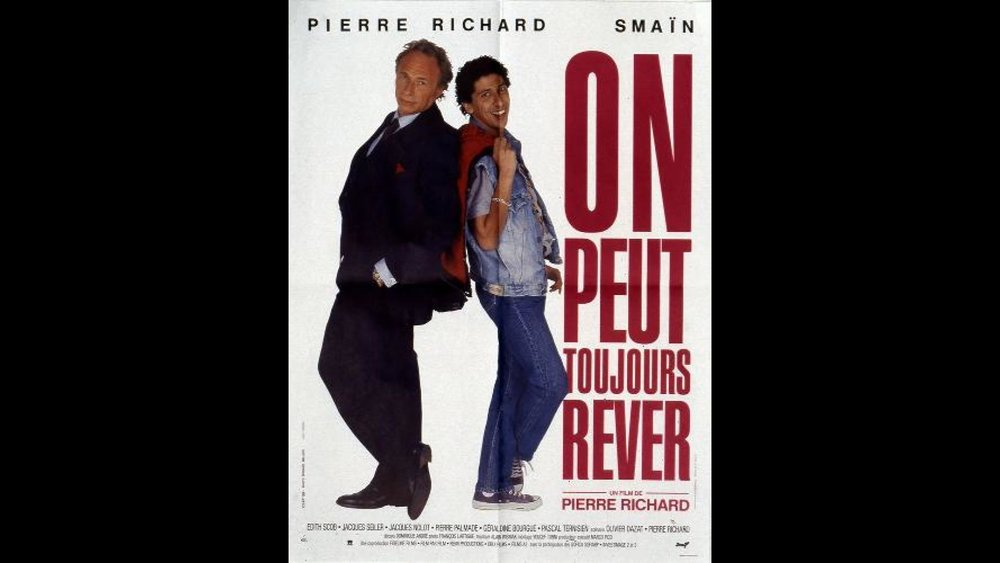 - Pierre Richard me propose d'écrire la bande originale de son film «On peut toujours rêver» dans lequel il tiens le rôle d'un acteur vedette qui n'a plus de travail . Nous choisissons ensemble l'harmoniste Toots Thielemans pour l'interpréter.