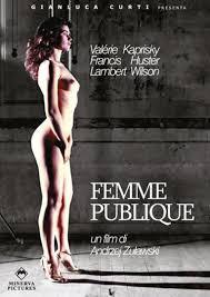 - J'ai rencontré le réalisateur Andjezw Zulawsi et son producteur René Cleitmann qui m'ont embauché pour composer la bande originale de leur film: «La femme publique» avec Valérie Kaprisky, Francis Huster et Lambert Wilson.