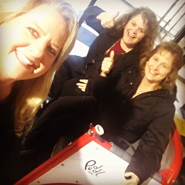 The Manchester NH community is awesome! Our friends randomly take selfies in our pedicab on their way to events! We are all about having fun and being a part of the Manchester Community.  #Peddl #PeddlPower #MHT #ManchesterNH #ManchVegas #Downtown #DowntownManchester