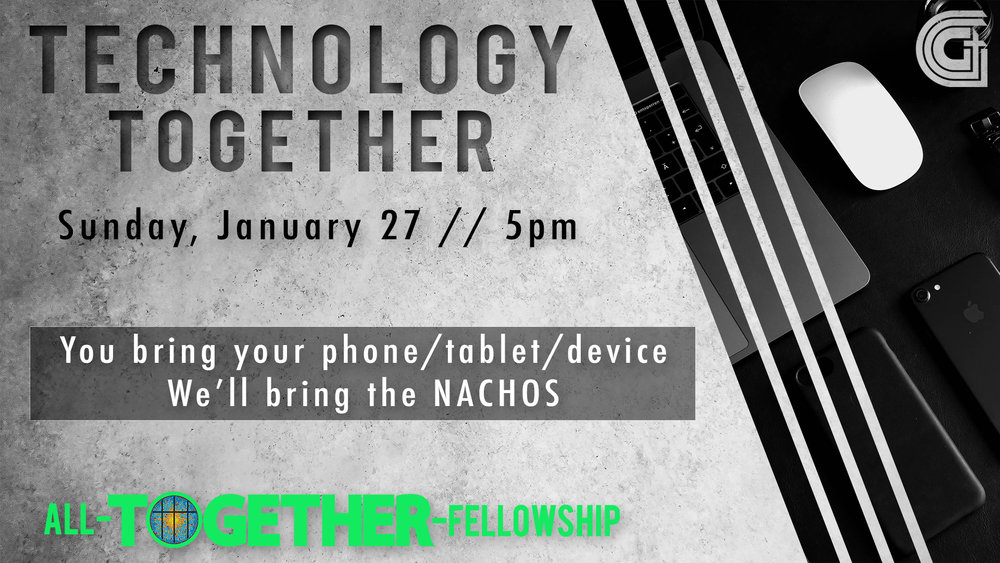 Next All-Together Fellowship | January 27th