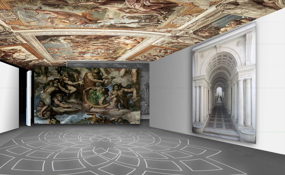 Roma rinascimentale. Michelangelo.