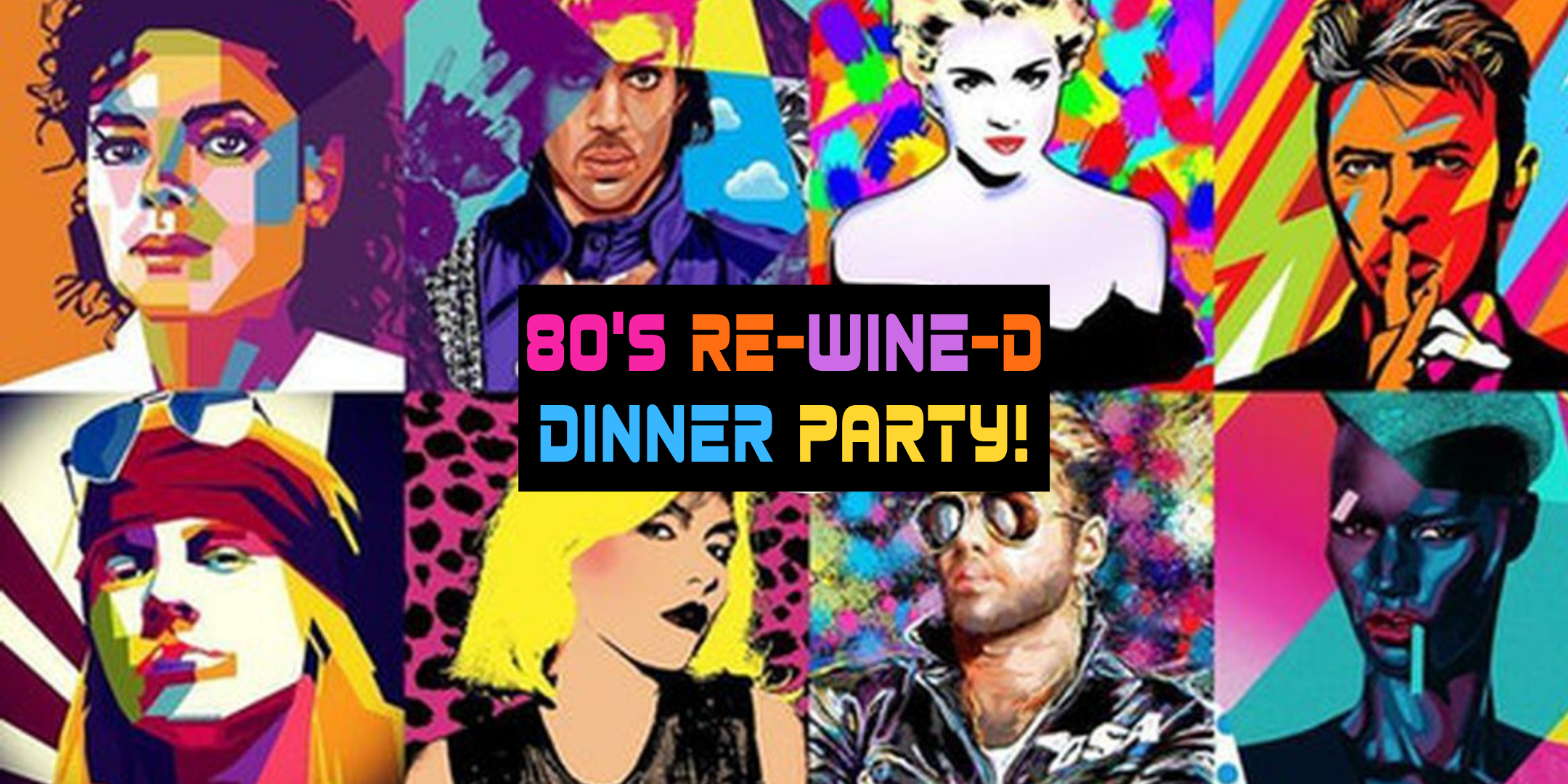 80's Wine Dinner Party! — Rollers Wine & Spirits
