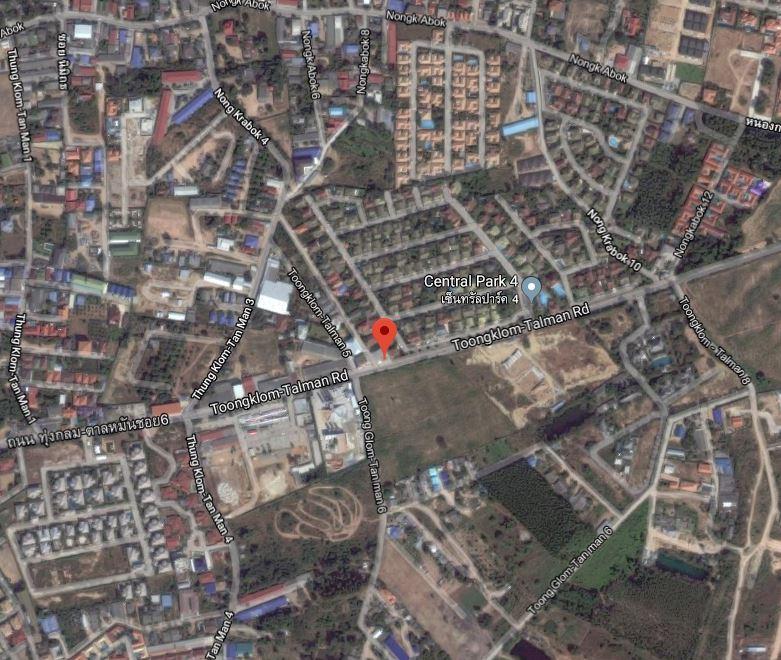 Address/ที่อยู่ทรัพย์ - Near Toongklom-Talman 5 ติดถนน ทุ่งกลมตาลหมัน 5