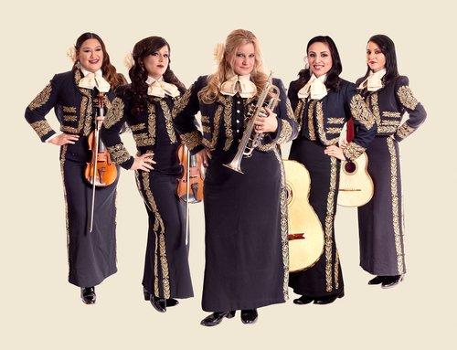 MARIACHI DIVAS  Two-time   Grammy-Award winning all-female Mariachi band