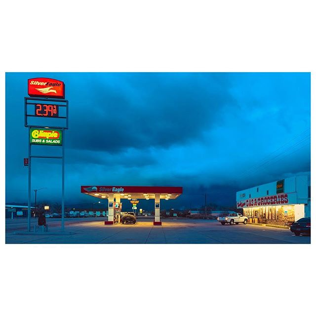 Gas Station | Green River, Utah.