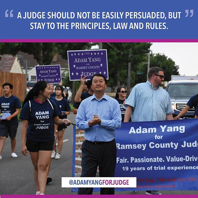 The residents of Ramsey County are best served by having a judge who understands them, especially in protecting  their well being, their rights and happiness.