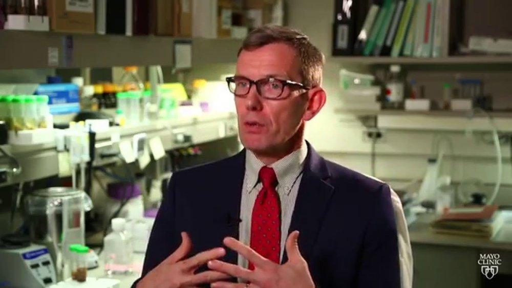 Prof. Jan van Deursen of the Mayo Clinic.