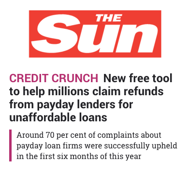 New free tool to help millions claim refunds from payday lenders - Read all about it in The Sun.png