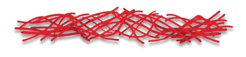 Standard staple fiber