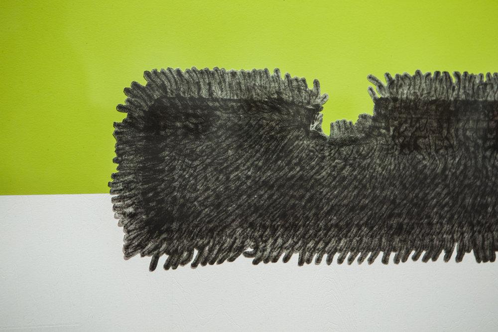 Flip-Flop Microfiber Dust Mop (detail)