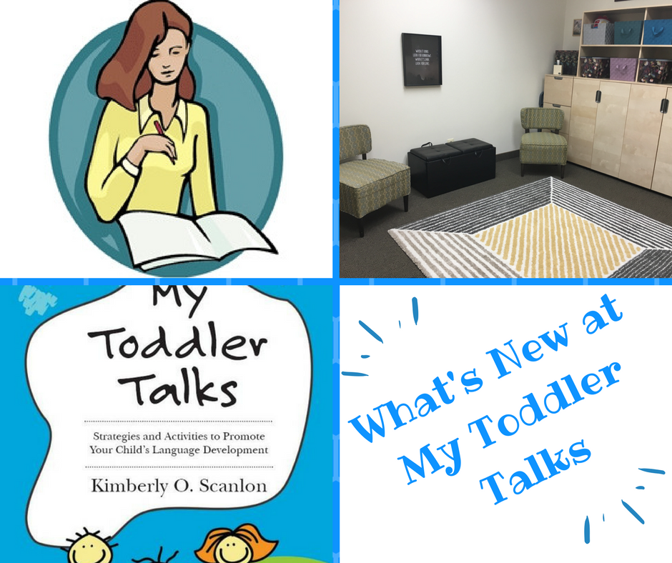 What's New at My Toddler Talks