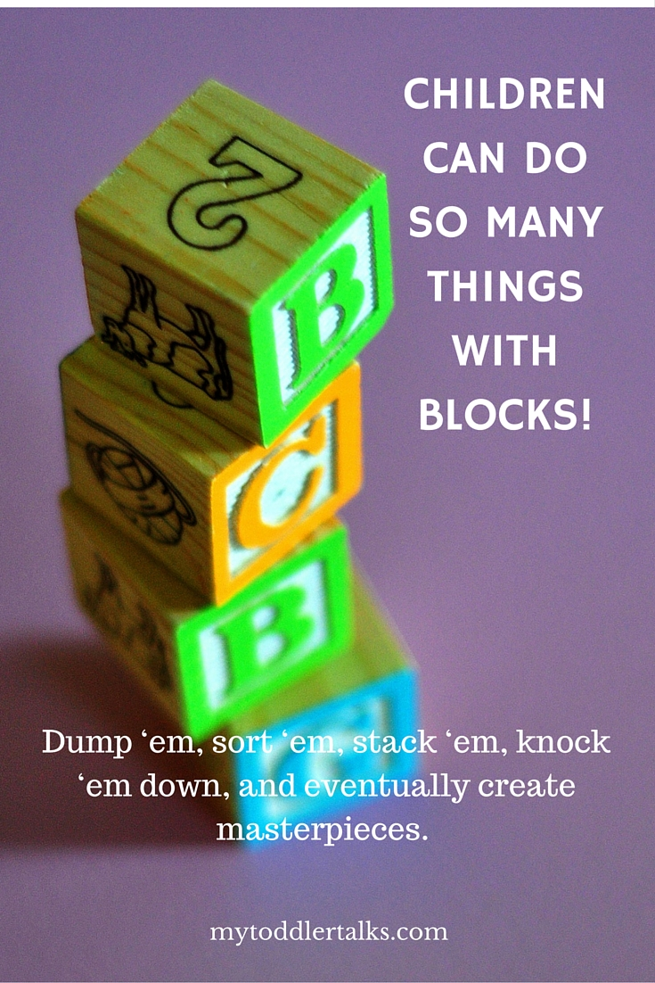How Blocks Promote Toddler Play