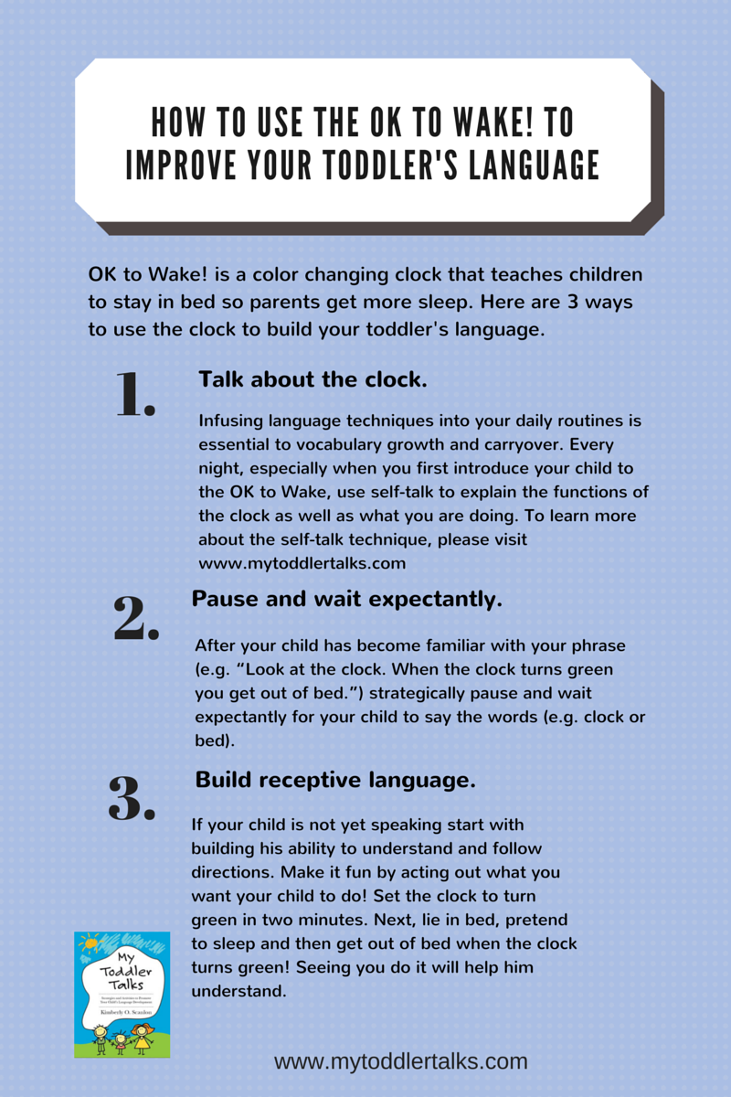 OK to Wake! Improve Your Toddler's Language