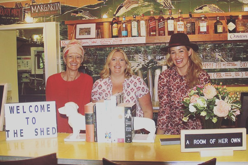 About Us - As friends, mothers, and working women, The SHED started taking shape while Sarah Cohen, Amanda Fairbanks, and Liza Tremblay lived on opposite coasts. READ MORE —>