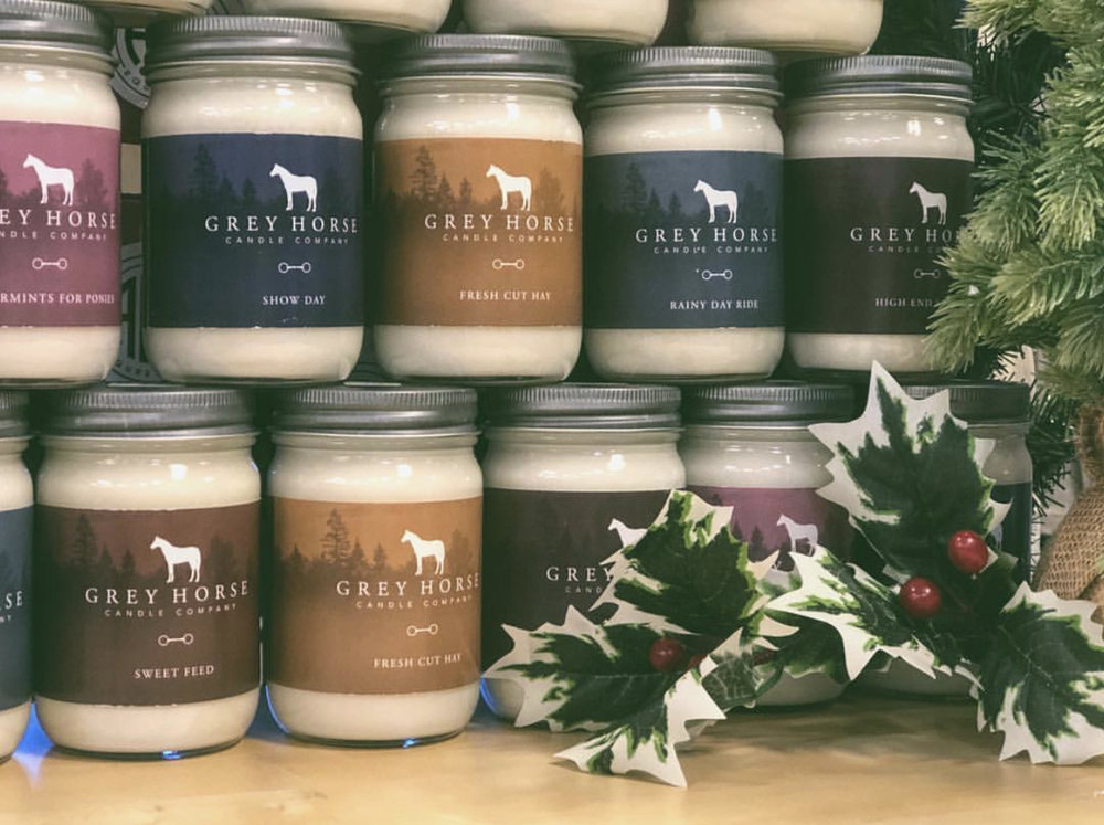 Grey Horse Candle Company candles - $19.95