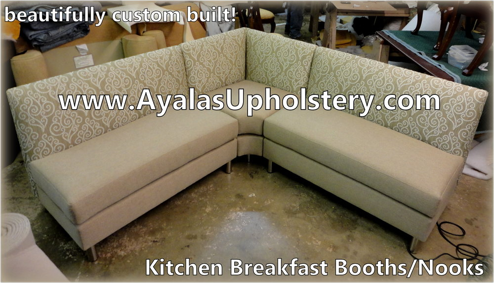 beautifully custom built kitchen booth By FamilyUpholstery.Com.jpg