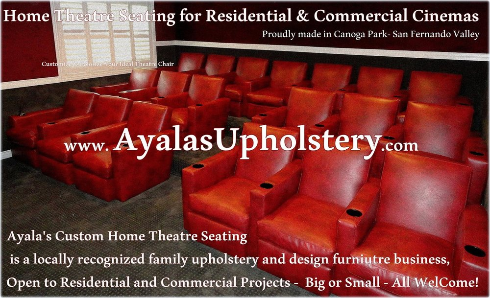 Theater Seats Custom Made by Family Ayala's Upholstery#1.jpg